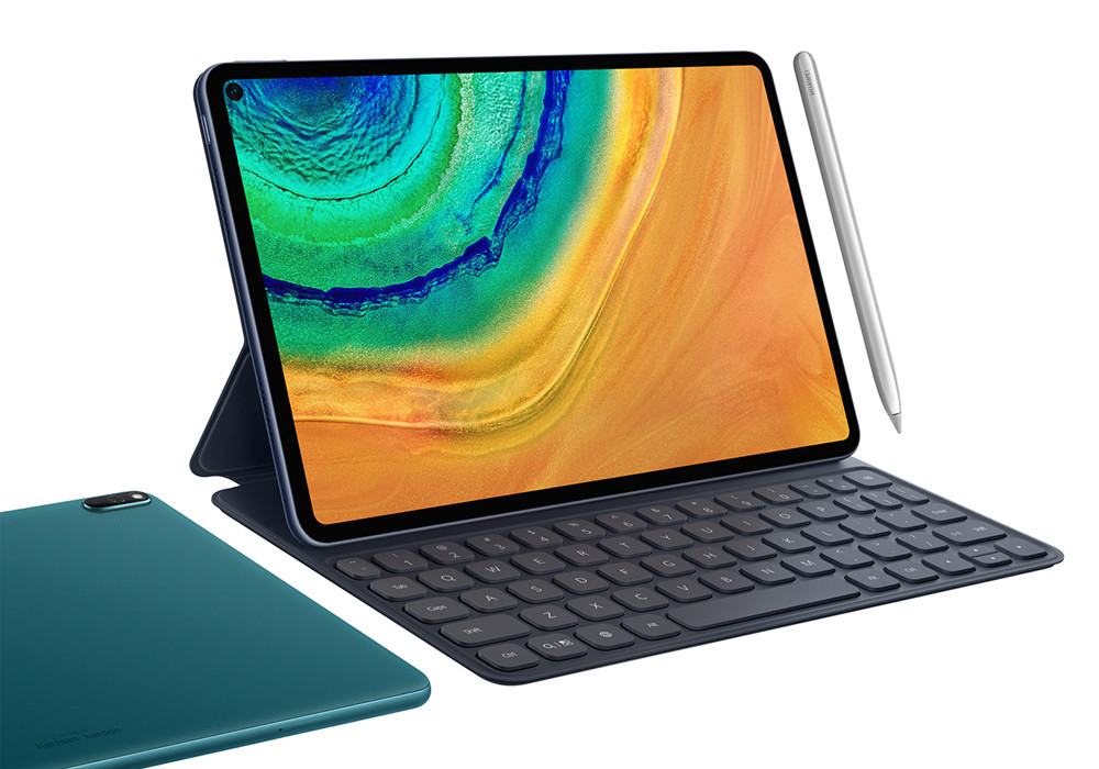 Huawei MatePad Pro: la tablet con pantalla perforada y carga inalámbrica