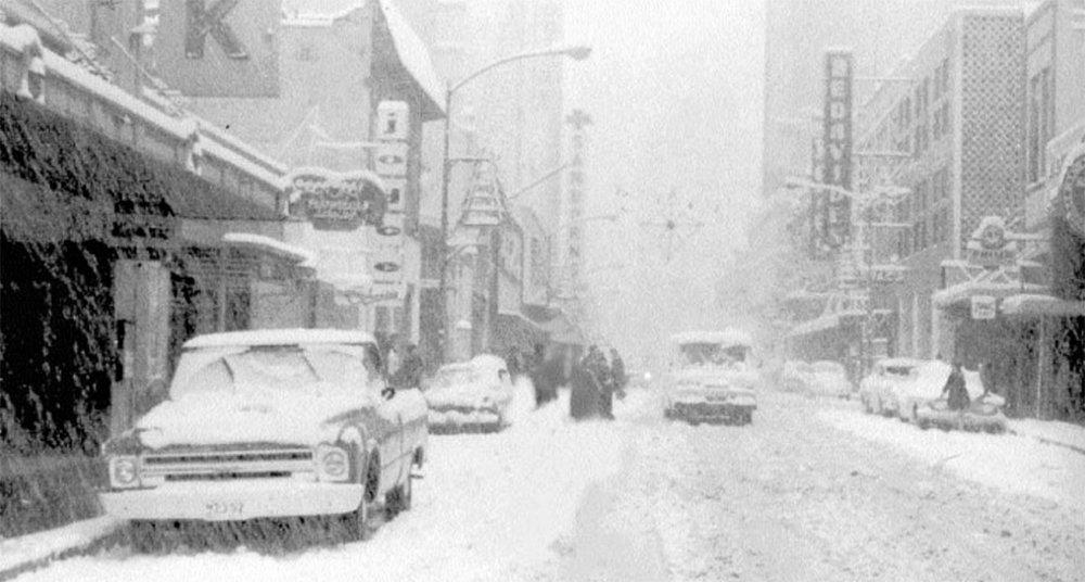 La última vez que cayó nieve en la Ciudad de México