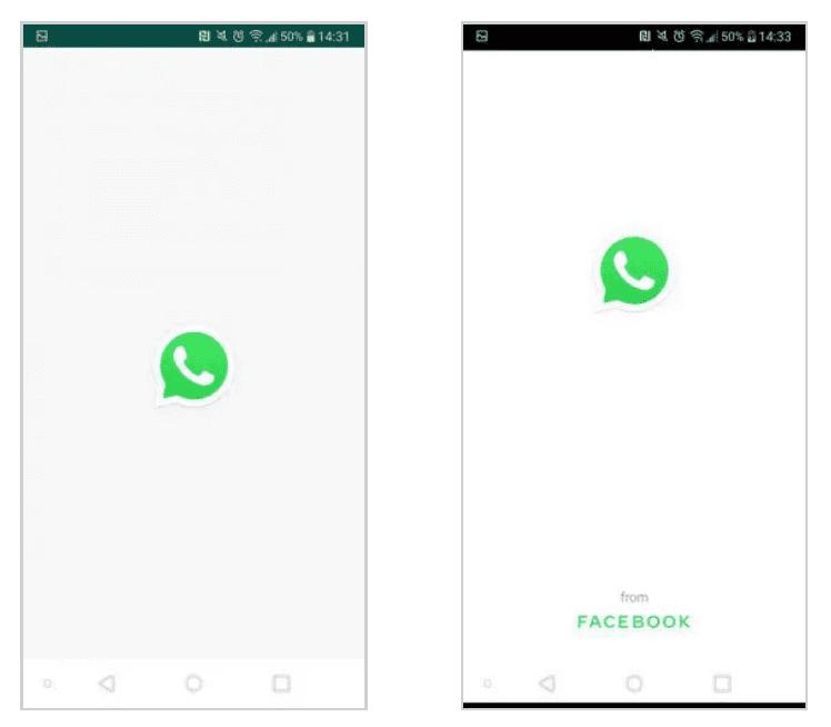 ¿Por qué aparece 'WhatsApp from Facebook' al abrir la app de mensajes? 2