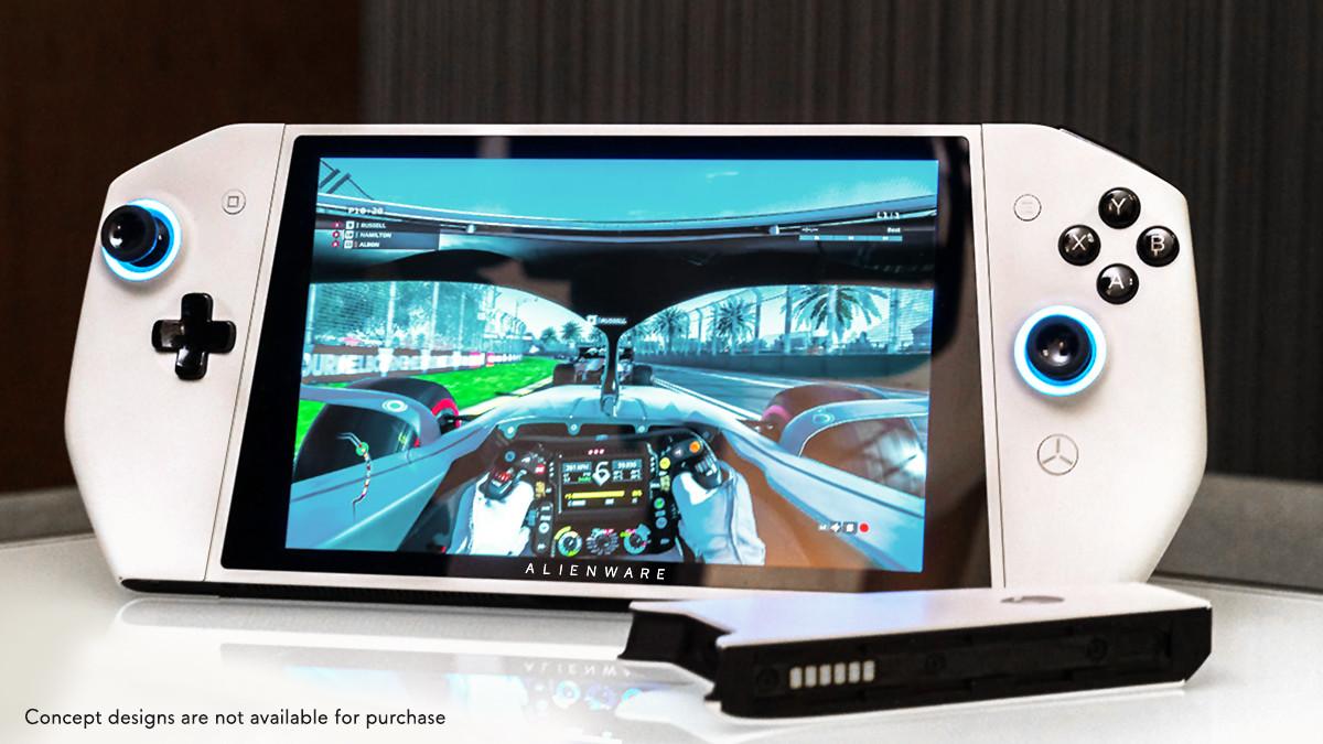 Alienware presenta Concept UFO, un PC gaming que parece Nintendo Switch
