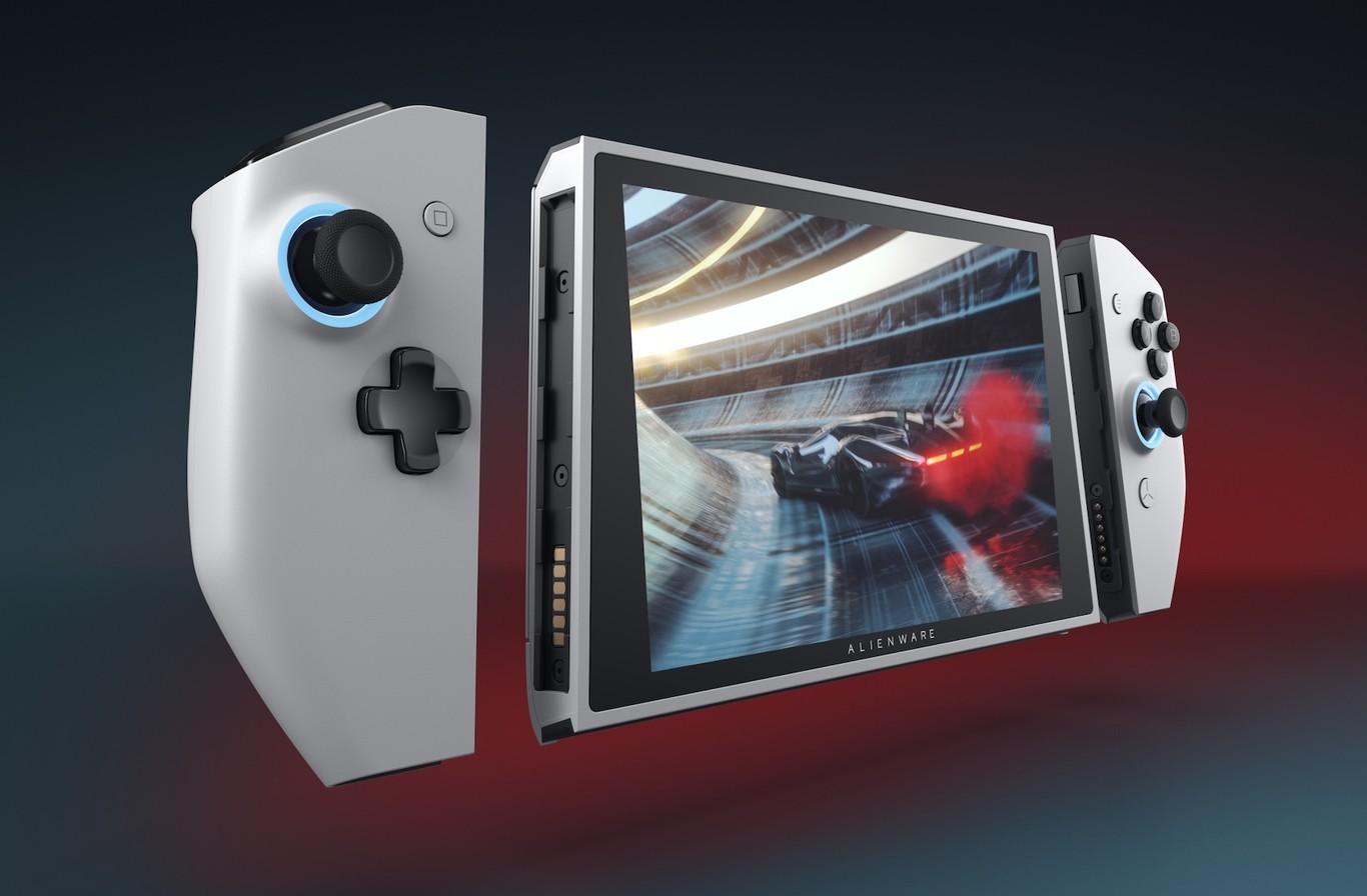 Alienware presenta Concept UFO, un PC gaming que parece Nintendo Switch 2