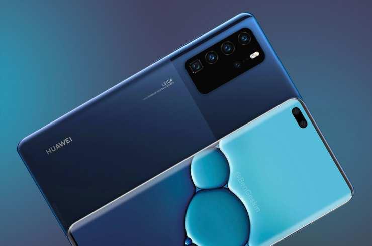Así podría ser el diseño del Huawei P40