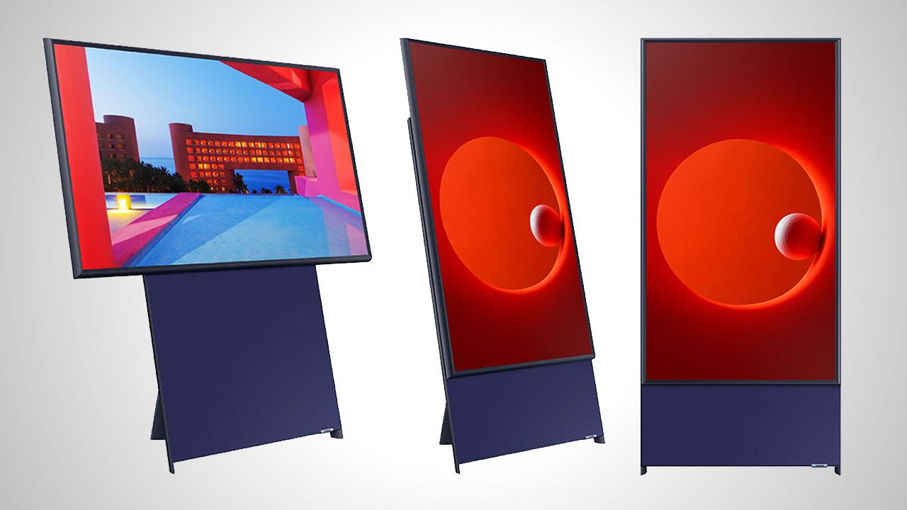 Samsung presenta 'The Sero', su televisión giratoria