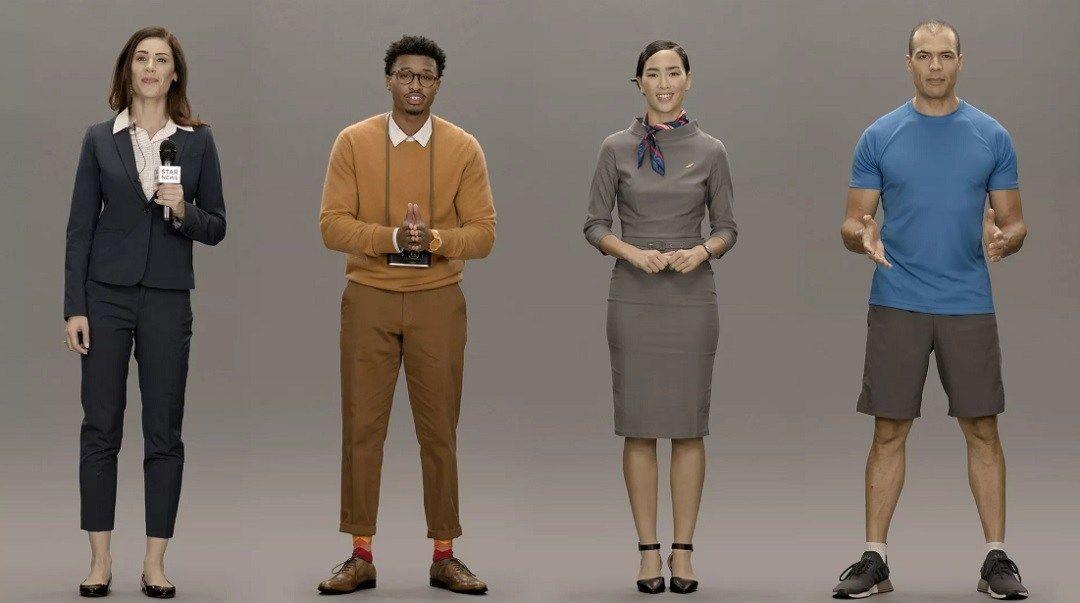 Samsung presenta a sus 'humanos artificiales'