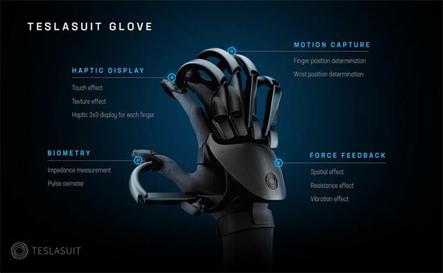 Tesla está desarrollando unos guantes para el VR 2