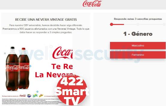 Alertan sobre falso mensaje de Coca-Cola por WhatsApp