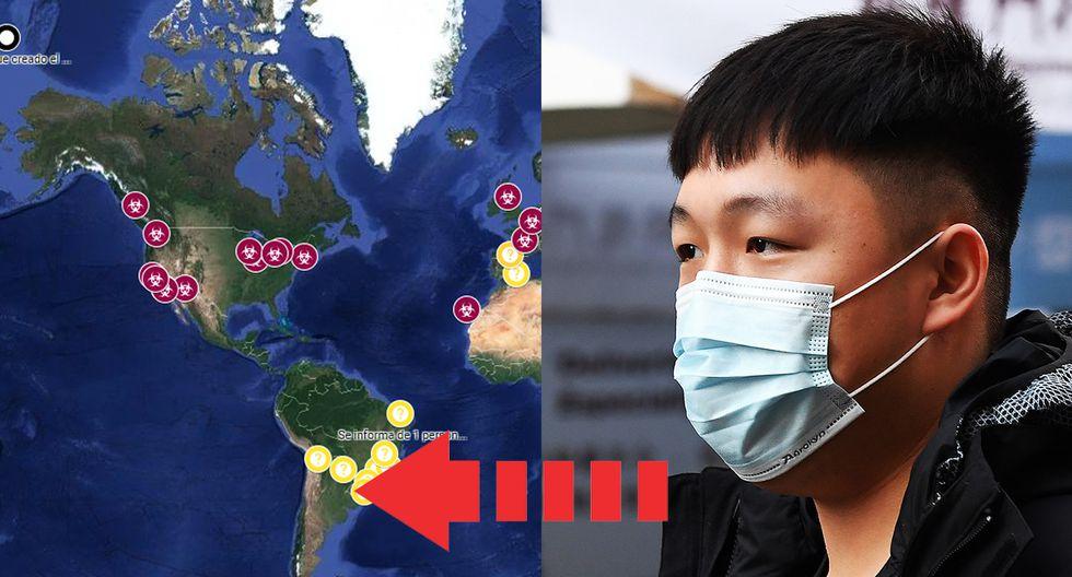 Coronavirus: Mapa de casos, muertes y curados en tiempo real