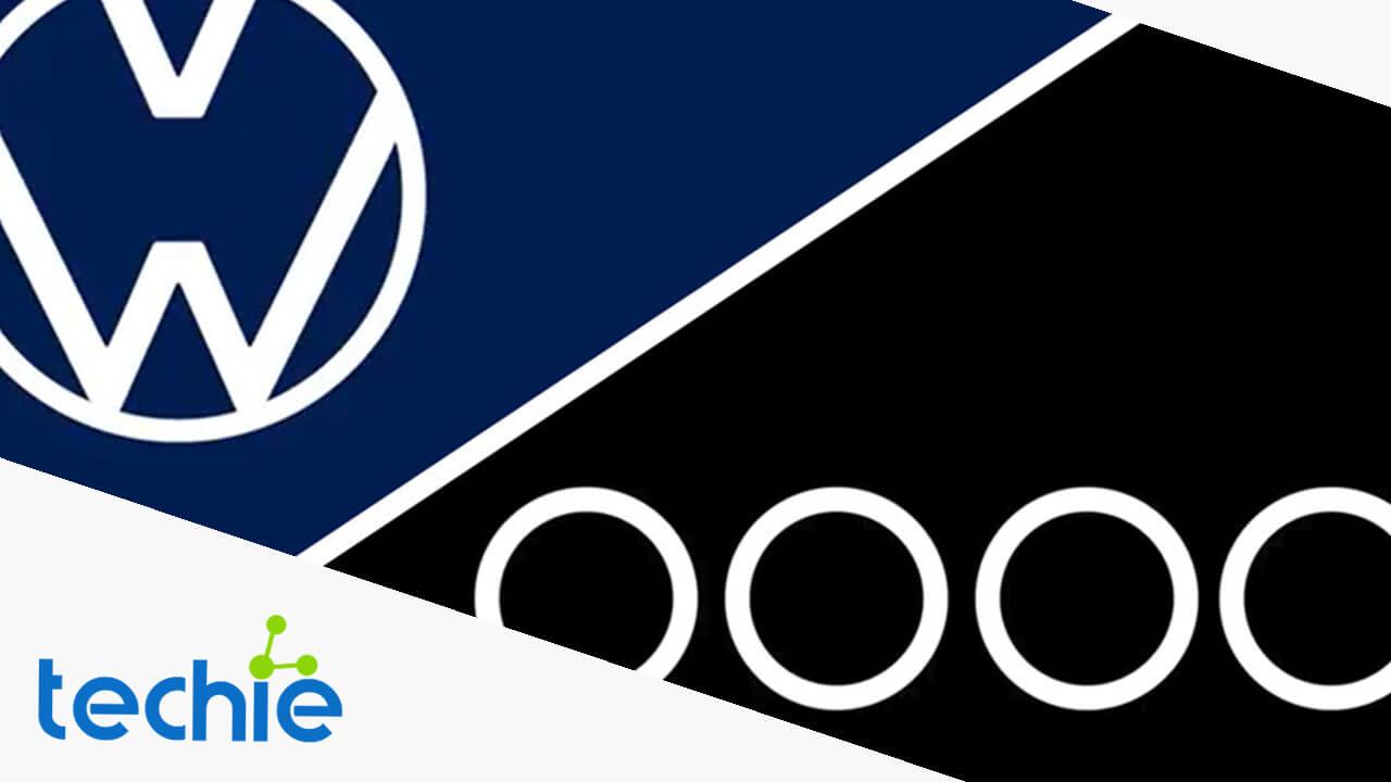 Audi y Volkswagen cambian sus logos en apoyo a la sana distancia en contra del covid-19