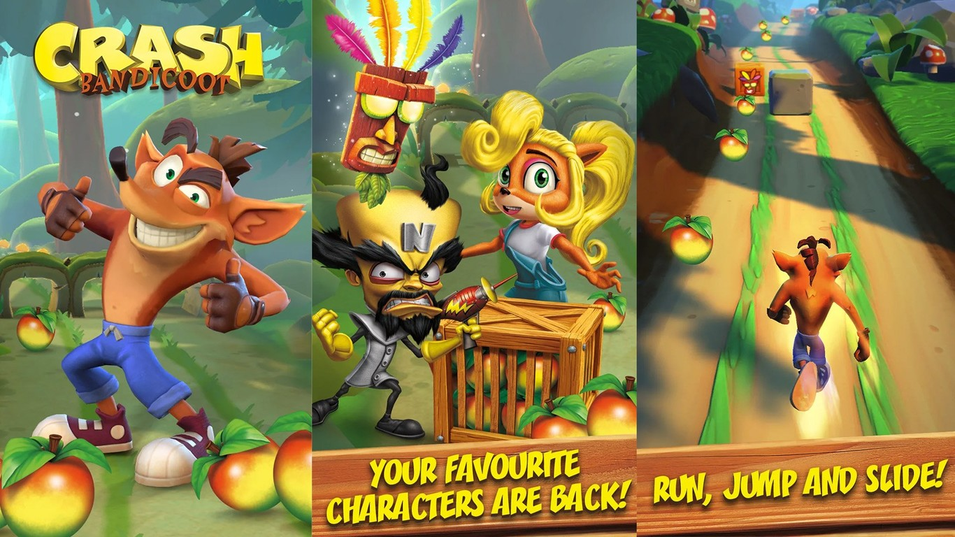 Crash Bandicoot ya está disponible para tu Android