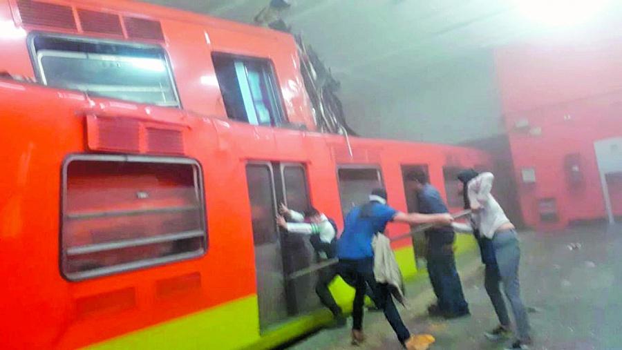 Choque de trenes en Metro Tacubaya fue por error humano