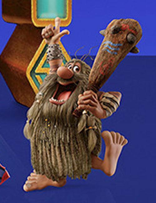 El Capitán Cavernícola es rediseñado para la película de Scooby Doo 2