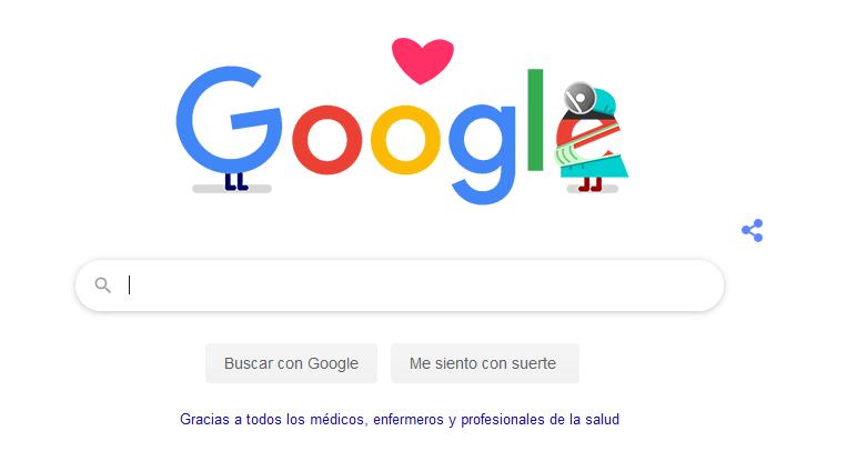 Google comete el primer error de la historia en un doodle
