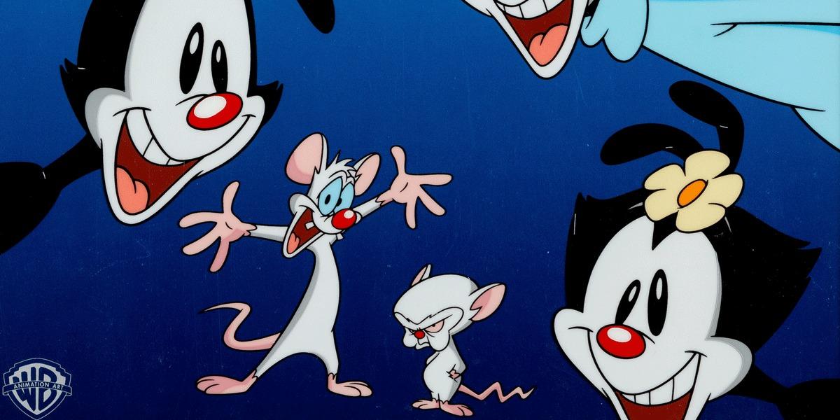 Pinky y Cerebro están de vuelta para el reboot de Animaniacs