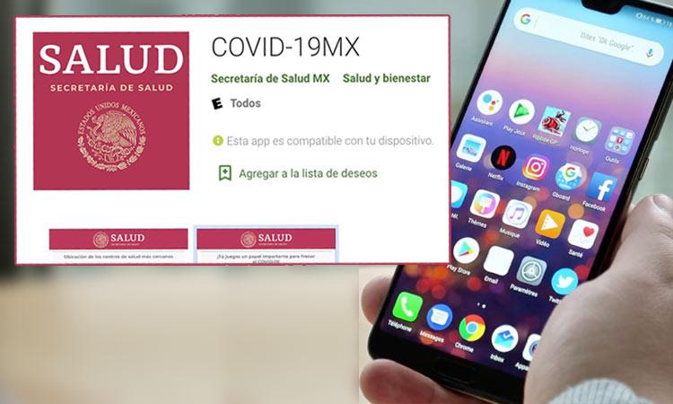 Secretaría de Salud lanza app para autodiagnóstico de COVID-19