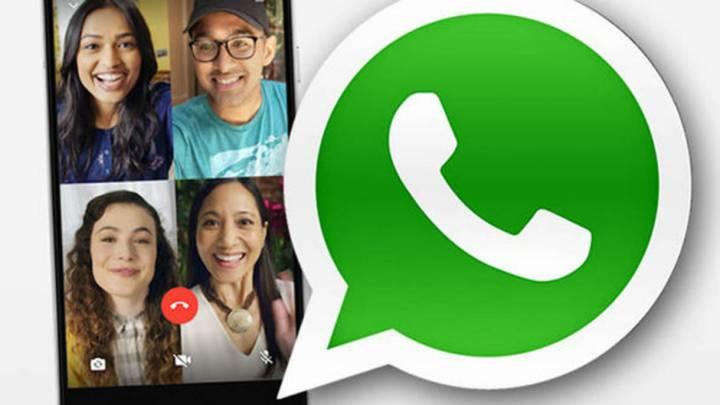 WhatsApp premitirá hacer videollamadas de más de 4 personas