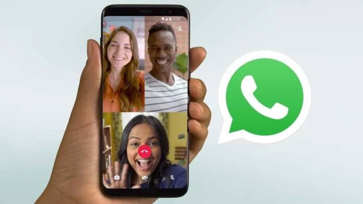 Ya puedes hacer videollamadas de hasta 8 personas en WhatsApp