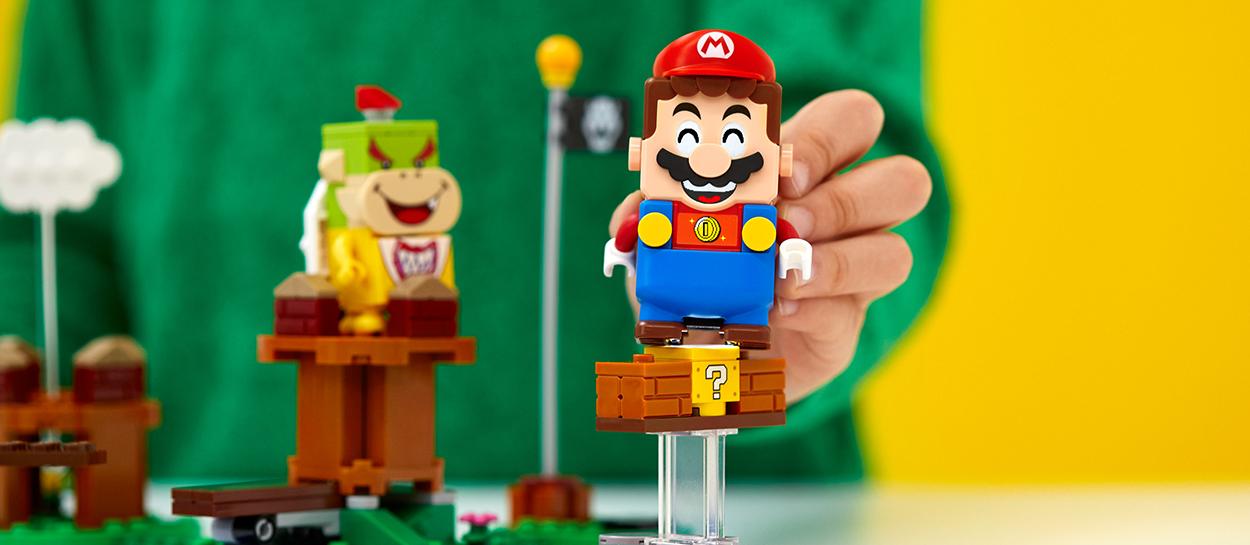 Te contamos todo sobre el set de Lego edición Super Mario Bros
