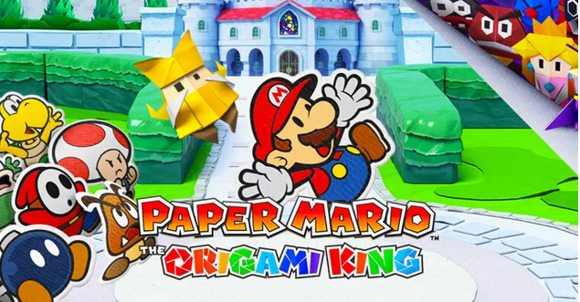 """Conoce todo sobre el nuevo """"Paper Mario: The Origami King"""" para Nintendo Switch"""