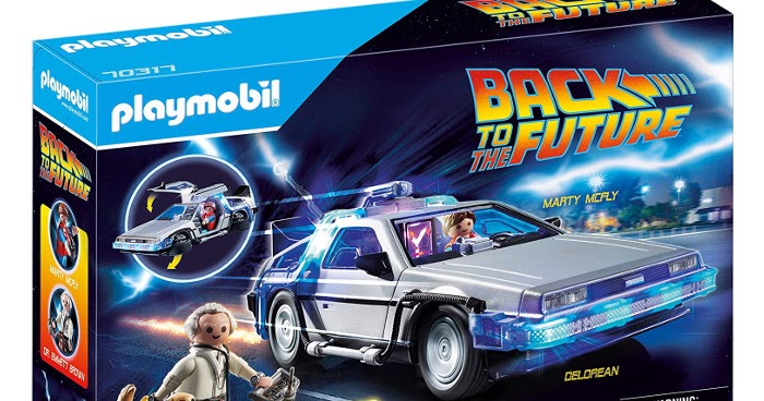 Playmobil lanza un increíble set de Back to The Future
