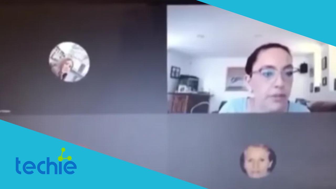 Maestra maldice a sus alumnos en videollamada