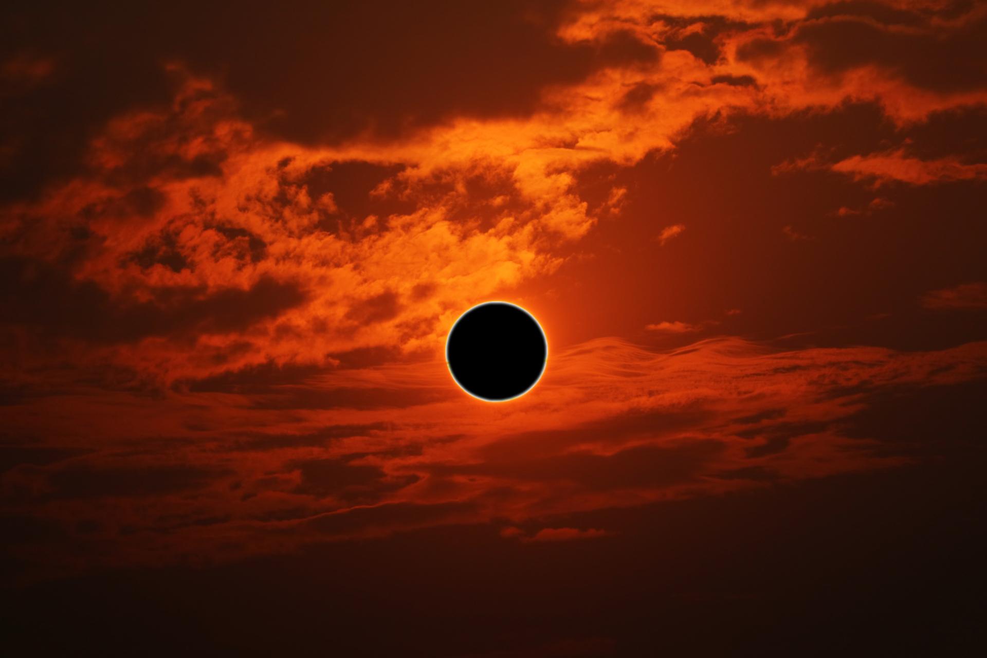 """El 21 de junio habrá un eclipse solar conocido como """"Anillo de Fuego"""""""