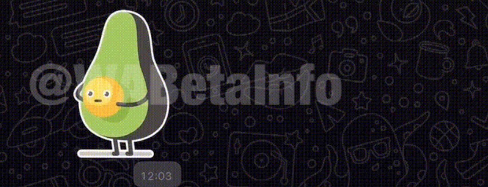 Los stickers animados llegan a WhatsApp, para Android y iOS