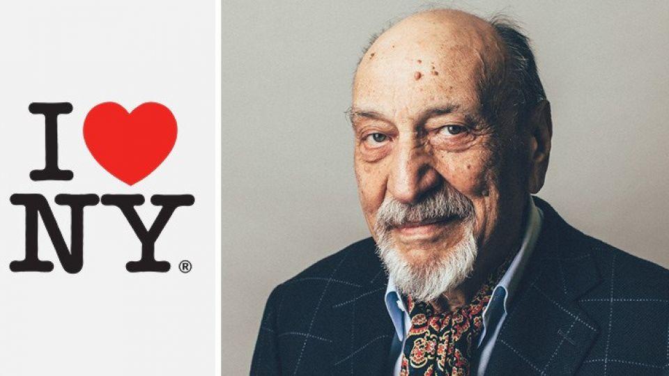 """Milton Glaser el gran maestro del diseño y creador del  logo """"I Love NY"""" muere a los 91 años"""