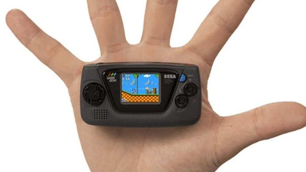 Sega presenta su nueva consola miniatura Game Gear Micro