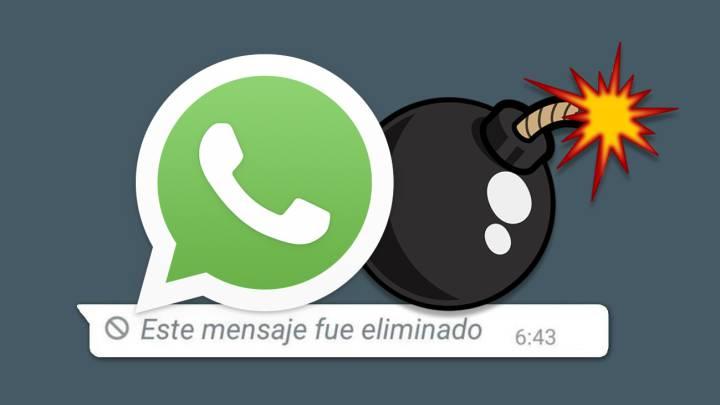 Ya se pueden autodestruir los mensajes dentro de WhatsApp