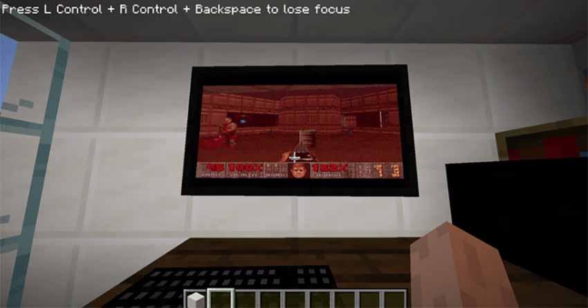 Consiguen ejecutar Windows 95 en Minecraft para jugar Doom