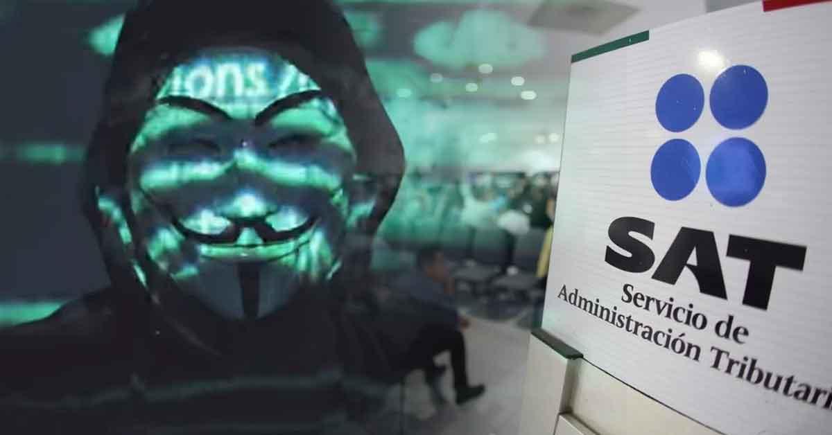 El hackeo de Anonymous al SAT y el Banco de México