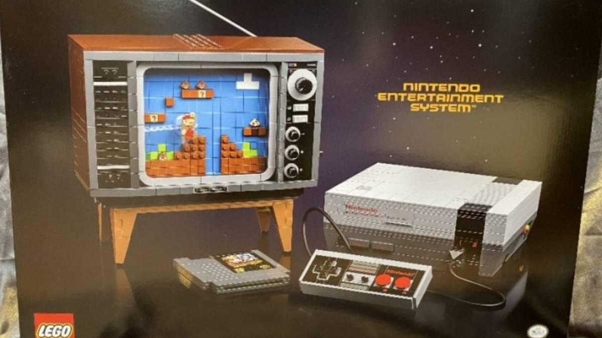LEGO presenta nuevo set de la NES con Super Mario Bros.