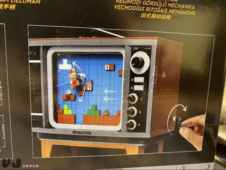 LEGO presenta nuevo set de la NES con Super Mario Bros. 2