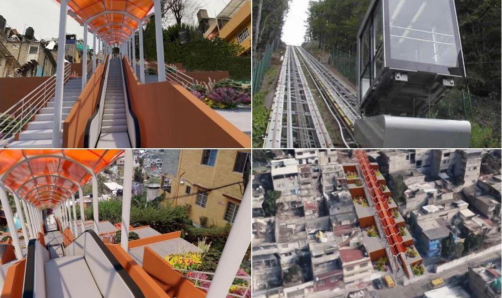 La CDMX tendrá su primera calle con escaleras eléctricas