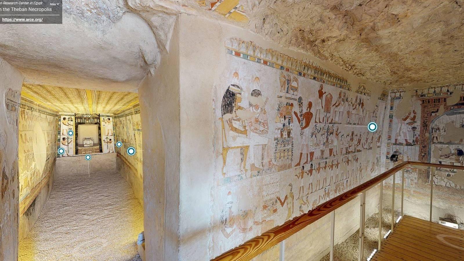 Lanzan recorridos virtuales por las maravillas del Antiguo Egipto