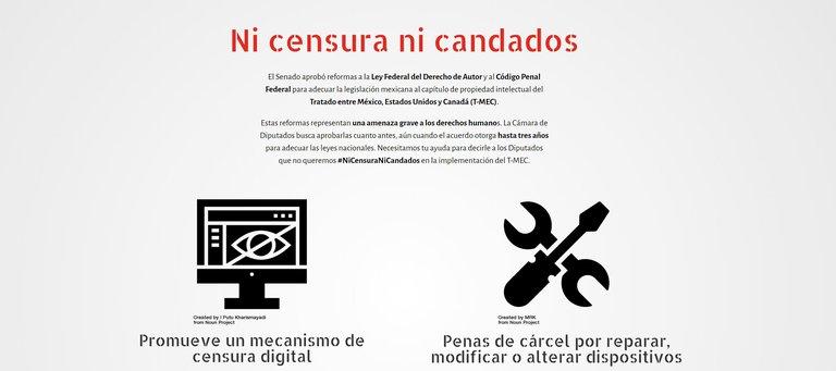 """ONGs acusan al Senado de """"censura digital"""" por reformas del T-MEC"""