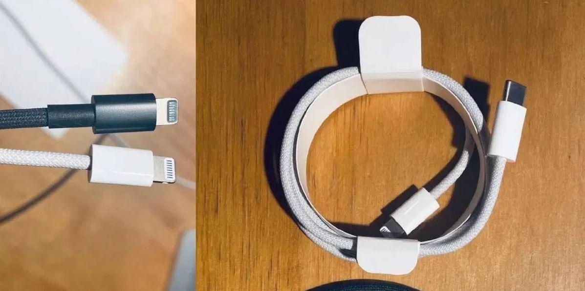 Se filtra el nuevo cable USB-C a Lightning para iPhone 12