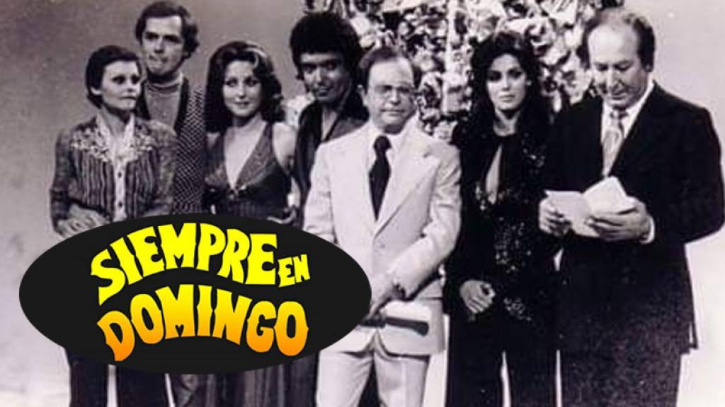 """""""Siempre en Domingo"""" regresa a la televisión con nuevo formato"""