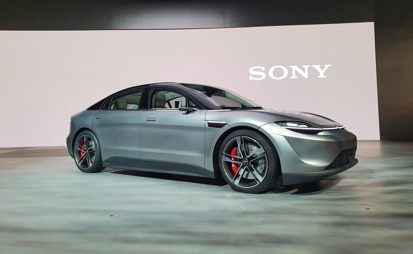 Sony presenta más detalles del Vision-S, su nuevo auto eléctrico