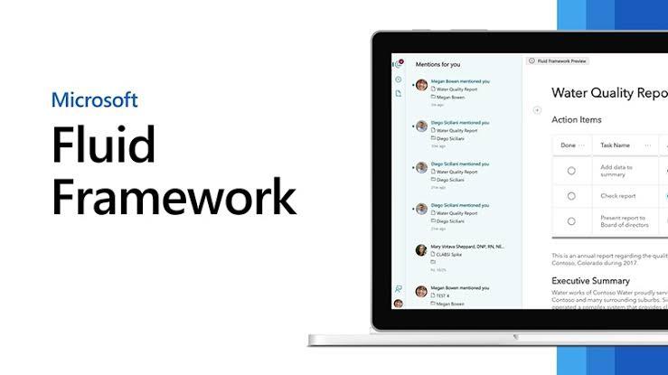 Microsoft presenta Fluid Components la nueva herramienta colaborativa