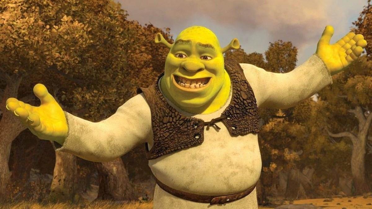 Alguien creo un sticker de la película completa de Shrek en WhatsApp