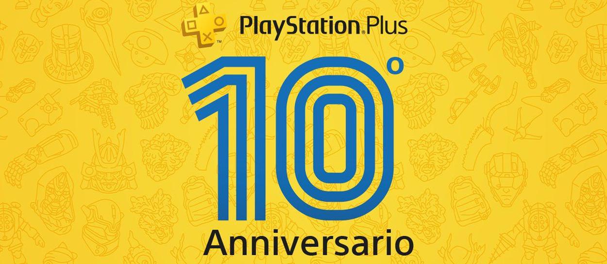 PlayStation Plus celebra su décimo aniversario con este tema gratuito para tu consola PS4