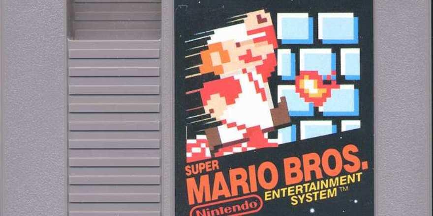 Cartucho de Nintendo de Super Mario Bros se vende en 114 mil dólares