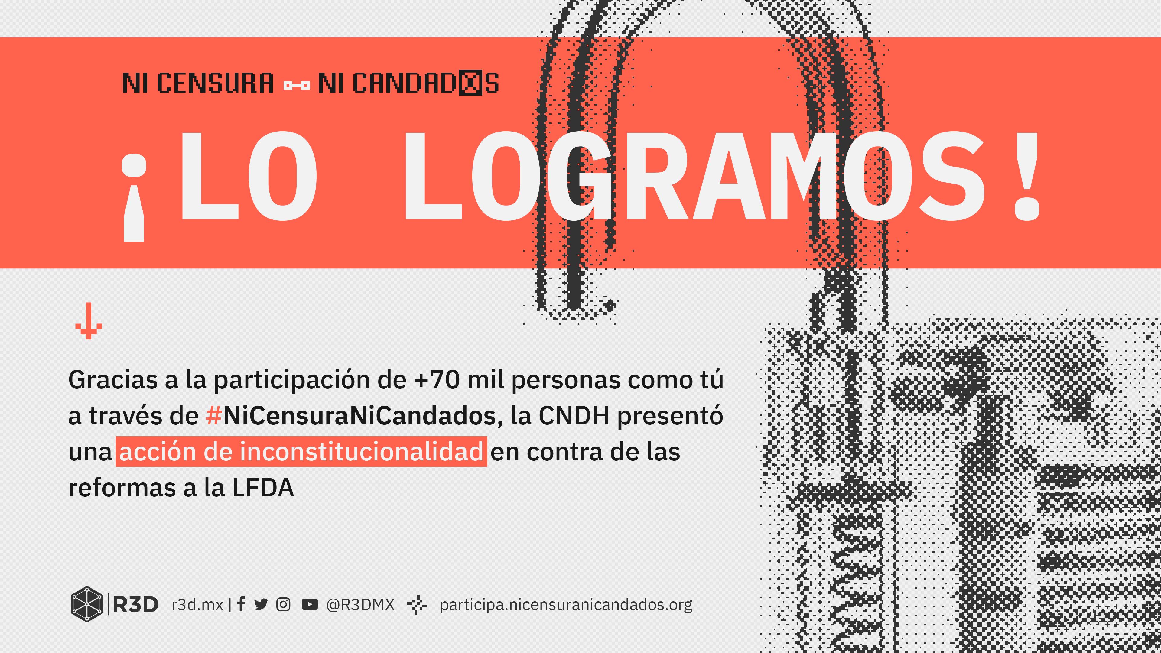 CNDH pide inconstitucionalidad en reformas a la Ley de Derechos de Autor 2