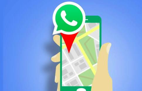Así es como te envían ubicaciones falsas en WhatsApp.