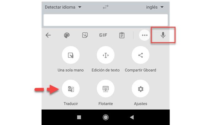 El teclado de Google ya traduce en tiempo real el dictado por voz 2