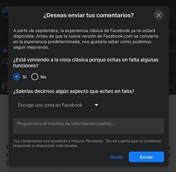Facebook eliminará su antiguo diseño a partir de septiembre