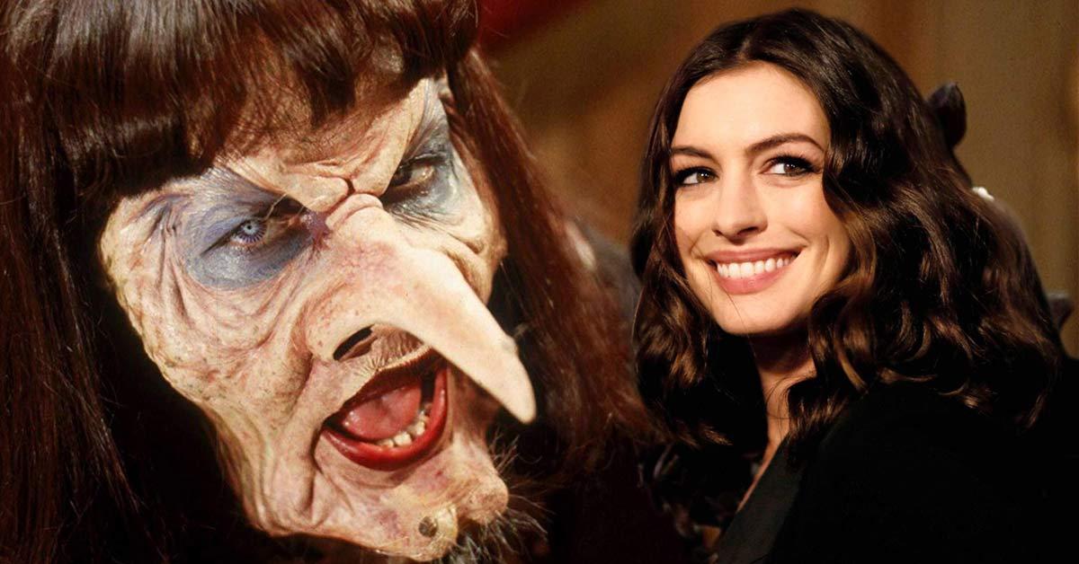 Filtran póster del remake de 'Las Brujas' con Anne Hathaway y Del Toro