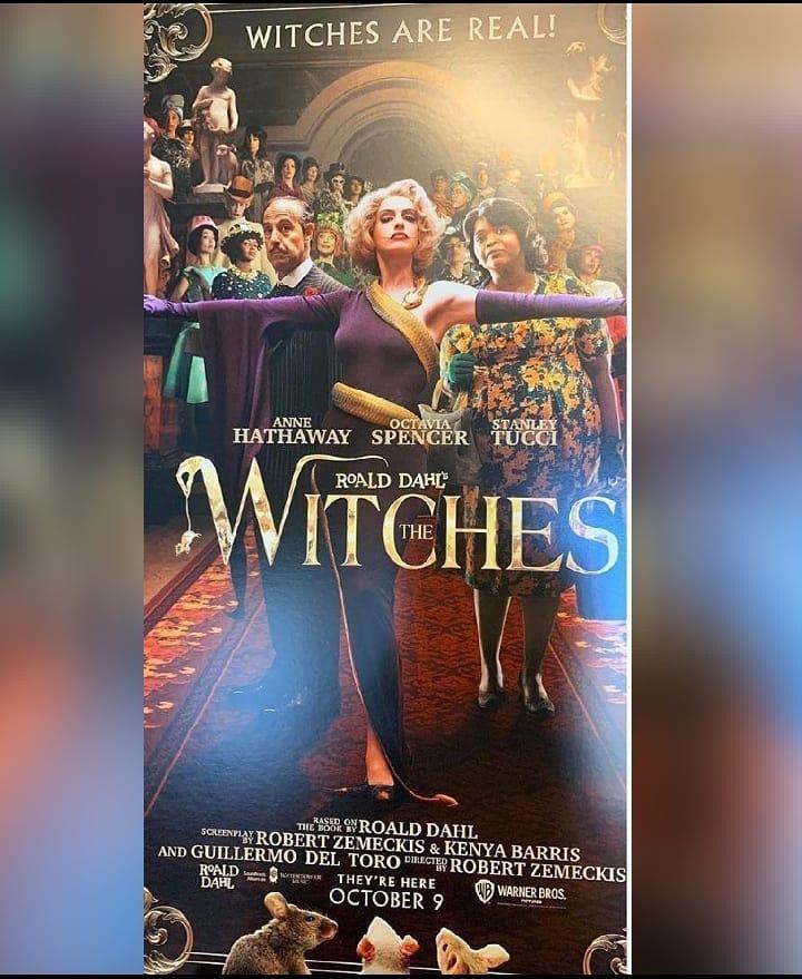 Filtran póster del remake de Las Brujas con Anne Hathaway y Del Toro 2