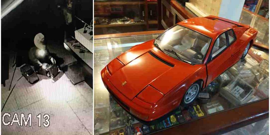 Roban del Museo del Juguete dos carritos de colección valuados en 50 mil pesos
